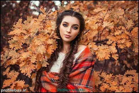 عکس پروفایل دخترونه پاییزی بدون متن